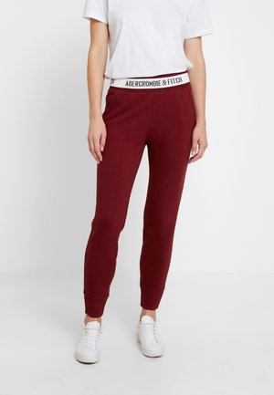 LOGO WAISTBAND - Pantalon de survêtement - red