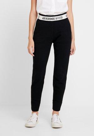 LOGO WAISTBAND - Pantalones deportivos - black