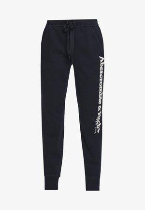 LONG LIFE - Teplákové kalhoty - navy