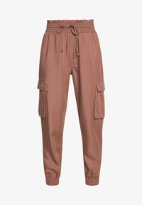 Abercrombie & Fitch - JOGGER - Trousers - brown - 4