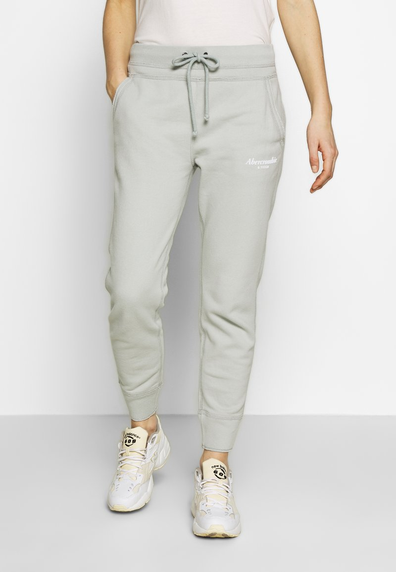 Abercrombie & Fitch - TREND LOGO JOGGER  - Joggebukse - moss grey