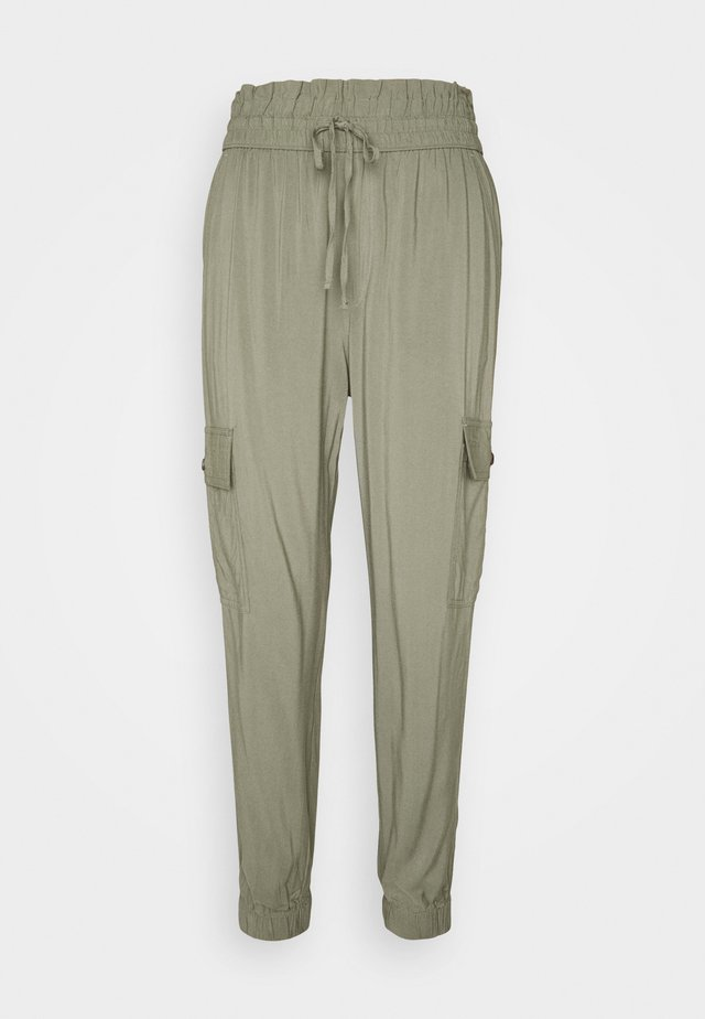 FASHION PANT  - Trousers - dusty olive