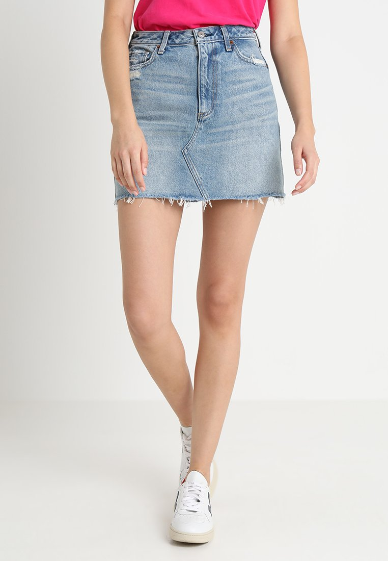 Abercrombie & Fitch - SKIRT - Mini skirt - medium