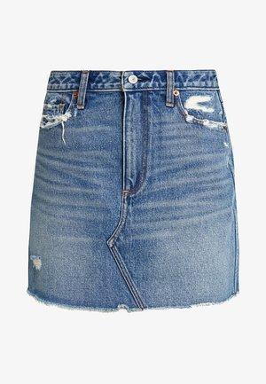 CLASSIC SKIRT - Denim skirt - dark wash
