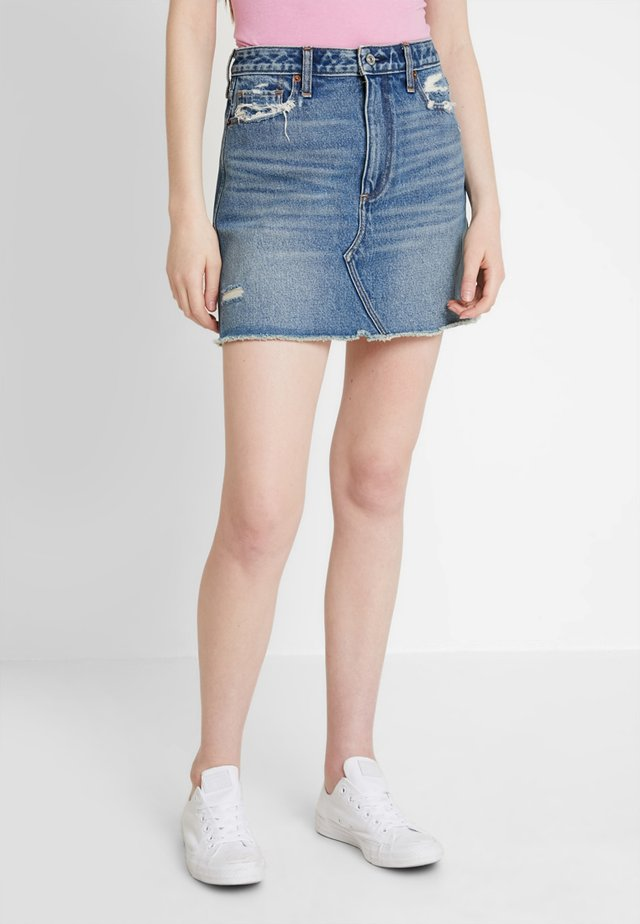 CLASSIC SKIRT - Jeansrock - dark wash