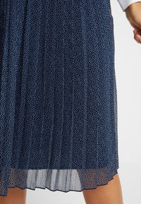 Abercrombie & Fitch - PLEATED MIDI SKIRT - A-lijn rok - navy - 4