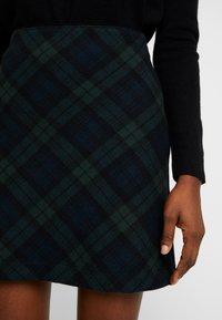 Abercrombie & Fitch - PLAID STRUCTURE MINI - A-line skirt - blackwatch - 4