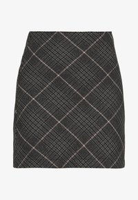 Abercrombie & Fitch - PLAID STRUCTURED - Mini skirt - red/white - 3