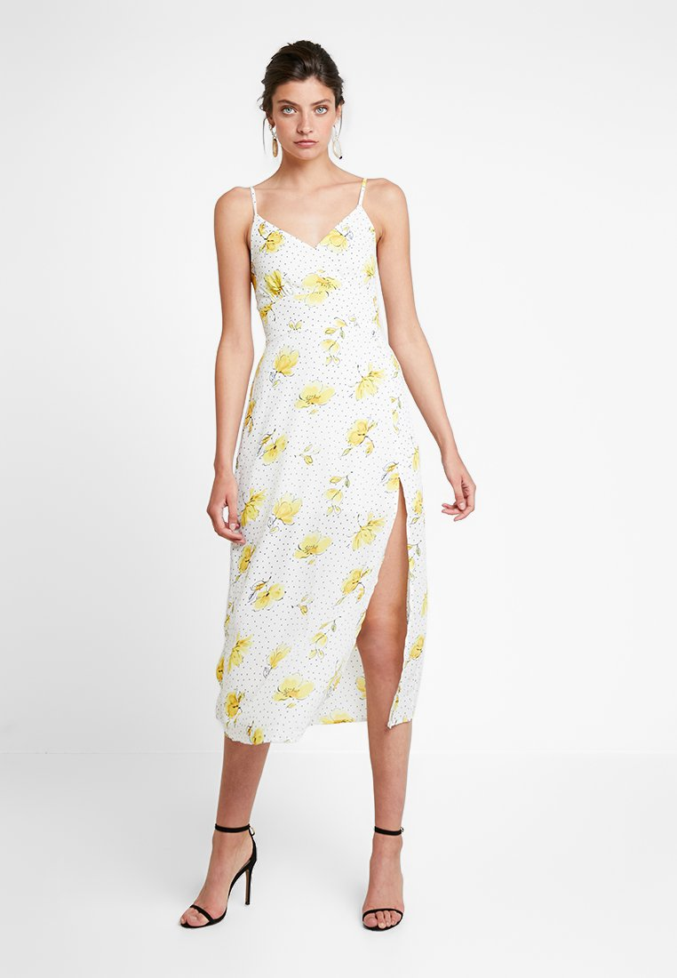 Wrap yellow Fitch Longue White Abercrombieamp; CamiRobe vN8y0OmnPw