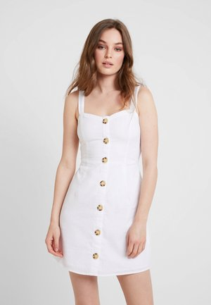UTILITY - Shirt dress - white