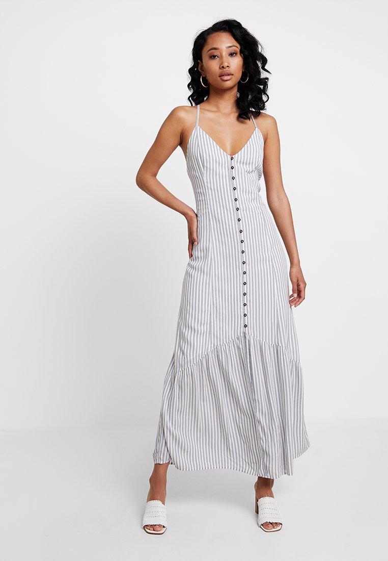 Abercrombie & Fitch - CAMI DRESS - Maxikleid - white