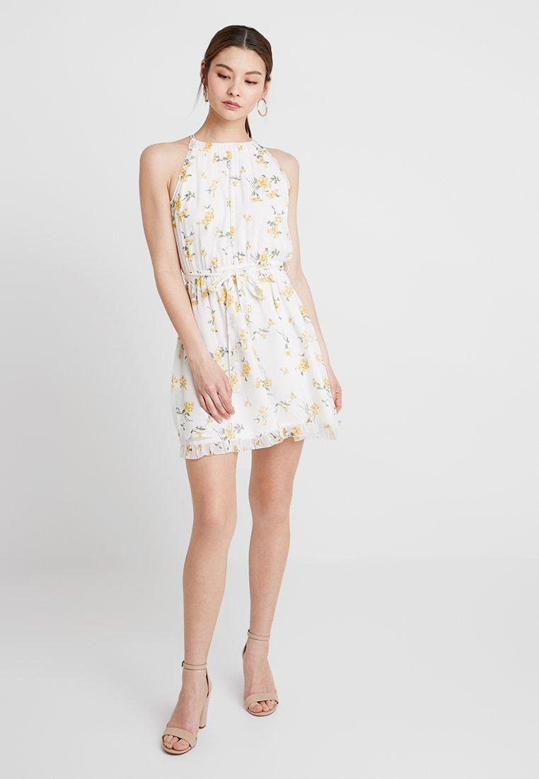 Abercrombie & Fitch - DRESS - Cocktailkleid/festliches Kleid - white
