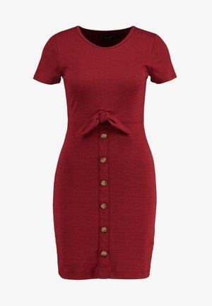 DRESS - Vestido de tubo - red