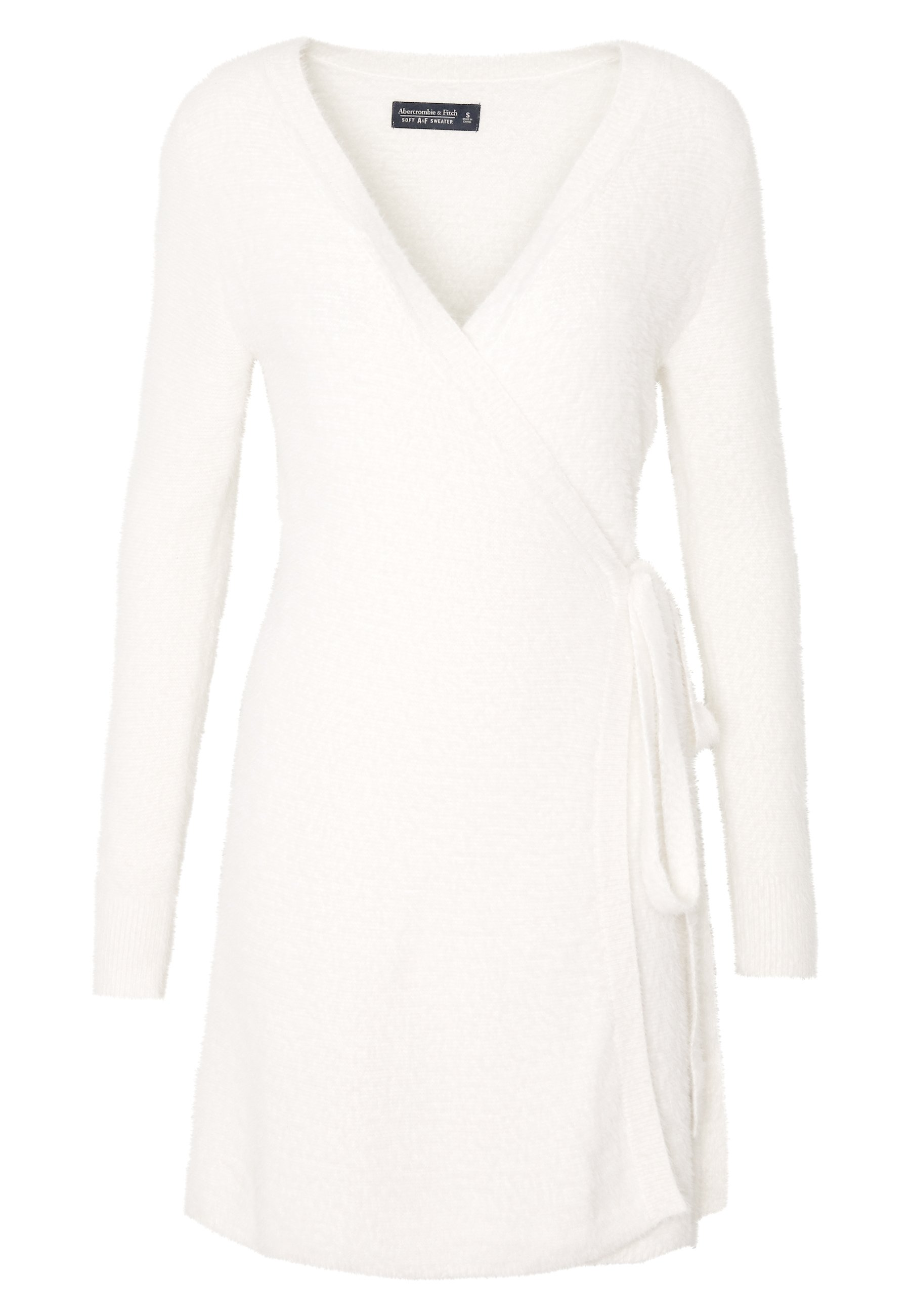 Abercrombie & Fitch Sweater Dress - Cardigan Cream zuxEBhP