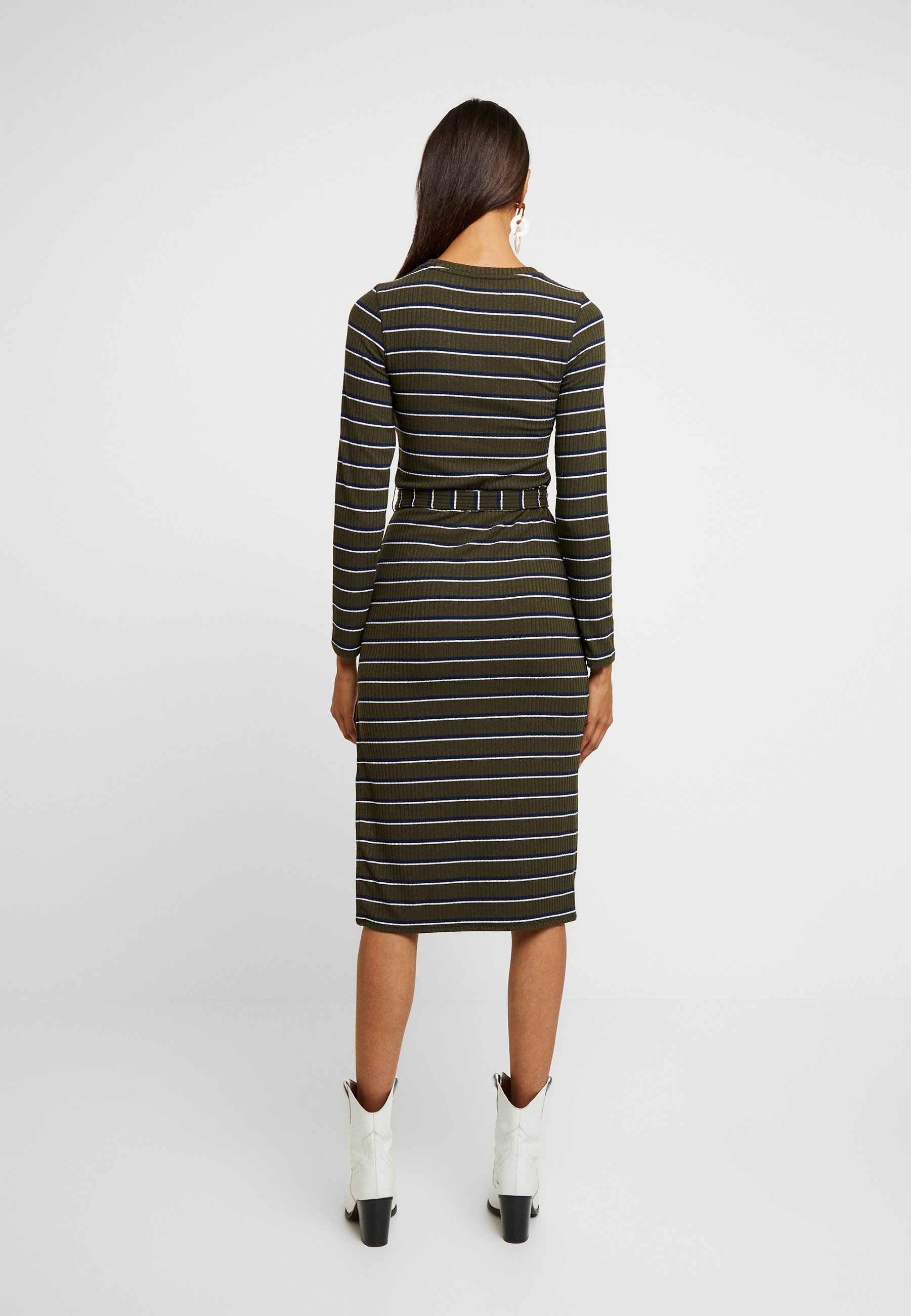 Abercrombie & Fitch DRESS - Tubino olive