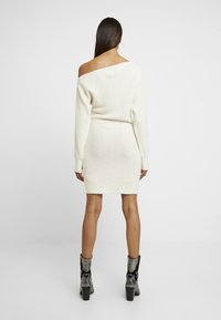 Abercrombie & Fitch - Robe pull - cream - 3
