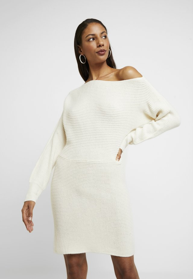 Jumper dress - cream