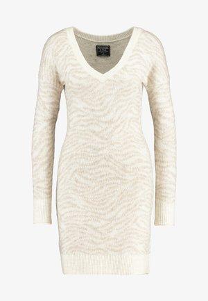 HEAVENLY - Jumper dress - beige
