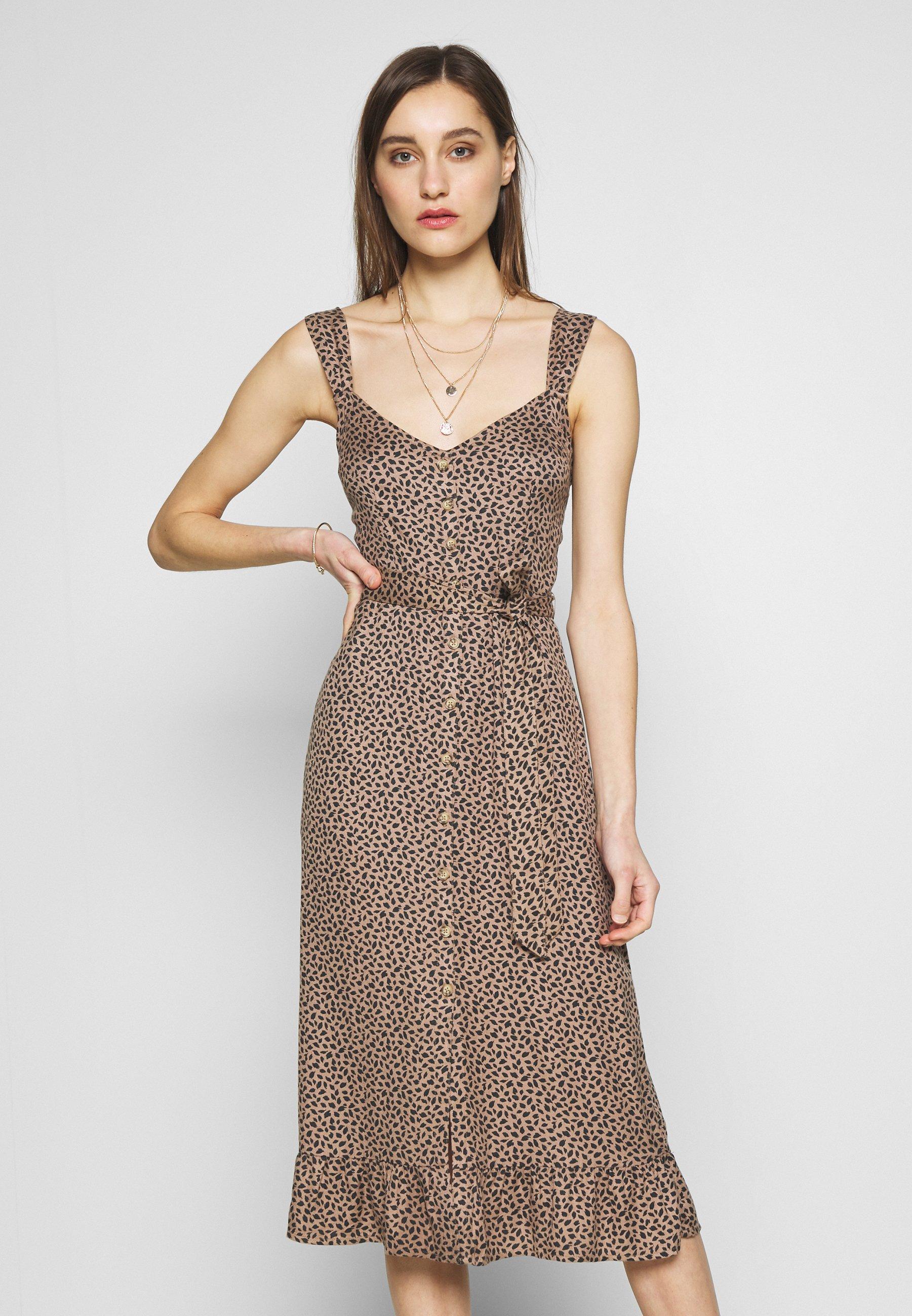 Abercrombie & Fitch Sukienka letnia - brown