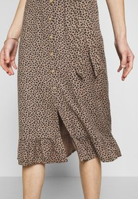 Abercrombie & Fitch - Day dress - brown - 4