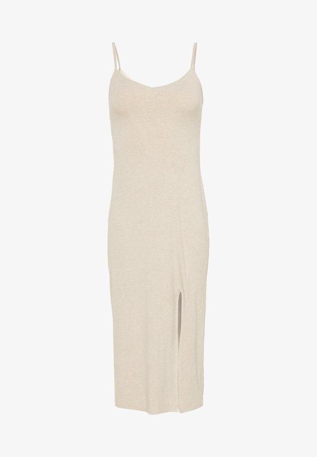 MIDI - Korte jurk - beige