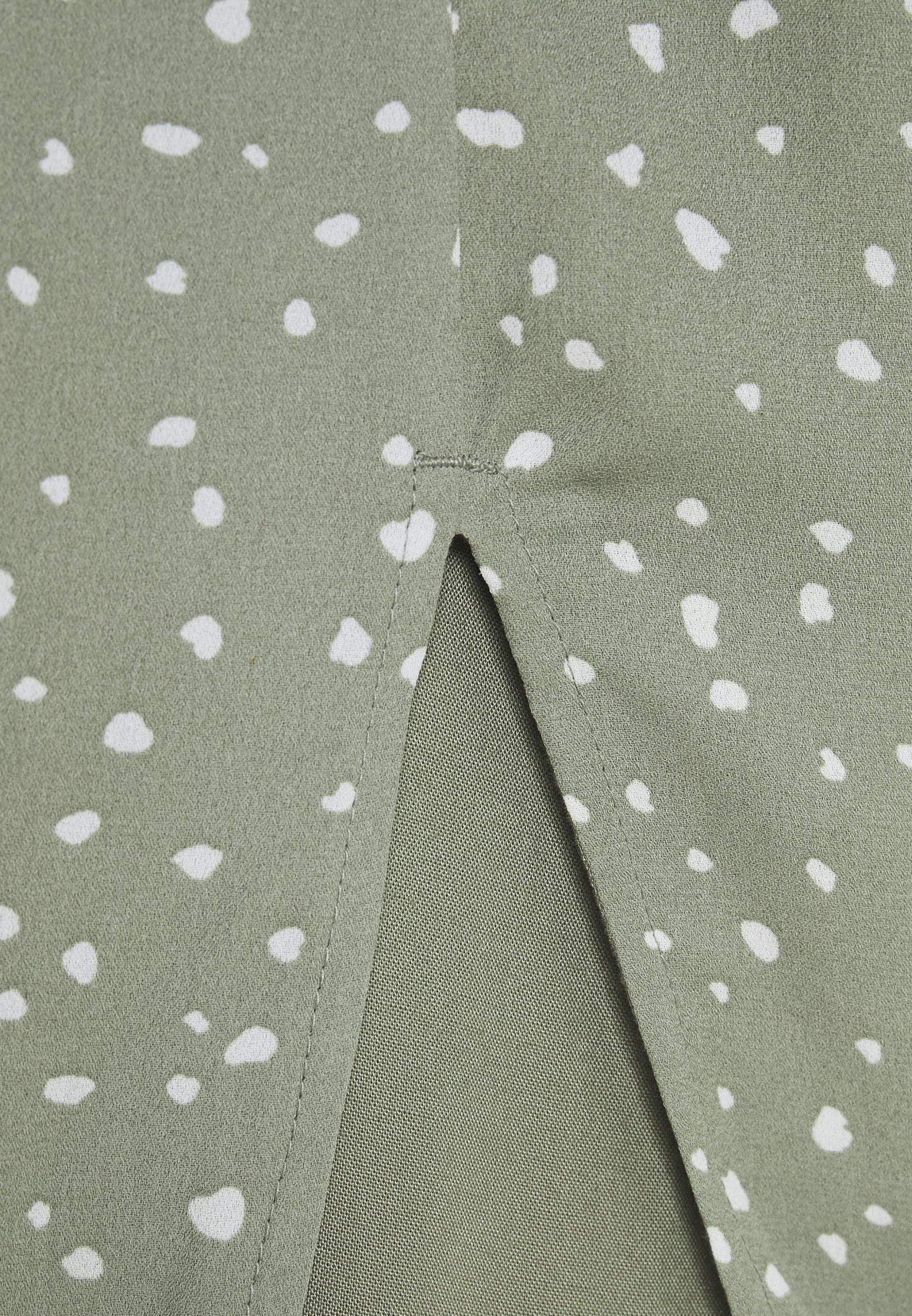 Abercrombie & Fitch Tie Shoulder Dress - Hverdagskjoler Green