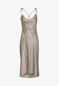Abercrombie & Fitch - BARE TIE SHOULDER - Denní šaty - multi - 0