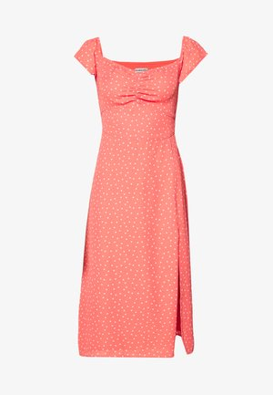 MIDI DRESS - Day dress - orange