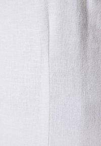 Abercrombie & Fitch - SIDE SLIT MIDI - Vestito estivo - white - 2