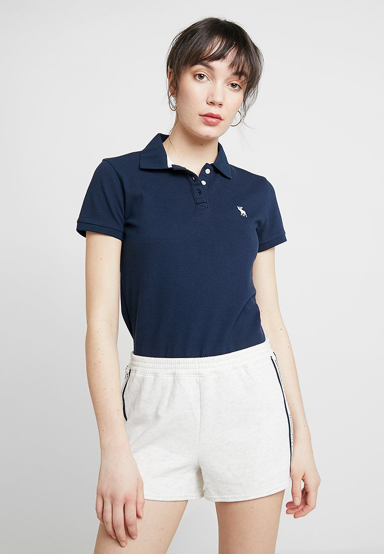 Abercrombie & Fitch - LOGO CLASSIC  - Polo - navy