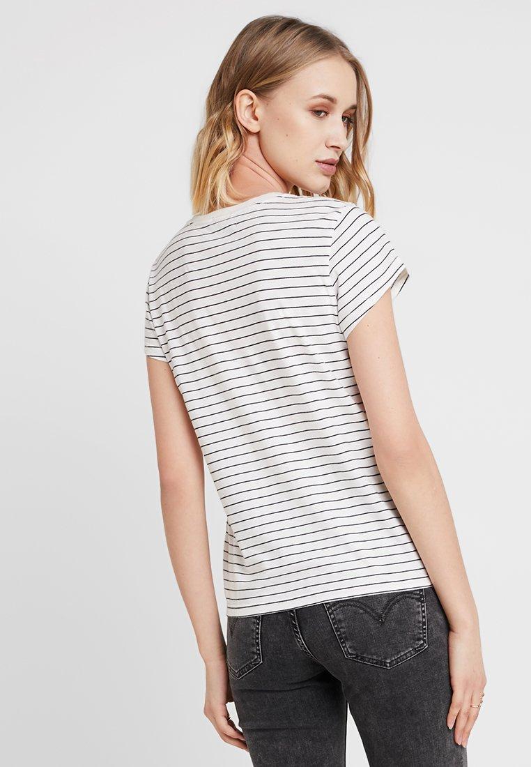 Abercrombie & Fitch CLASSIC LOGO TEE - Camiseta estampada navy