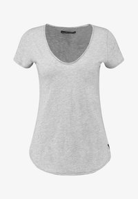 Abercrombie & Fitch - SLEEVE ICON TEE - T-Shirt print - grey - 3