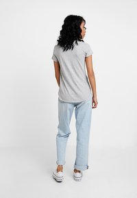 Abercrombie & Fitch - SLEEVE ICON TEE - T-Shirt print - grey - 2