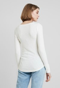 Abercrombie & Fitch - LONG SLEEVE ICON HENLEY - T-shirt à manches longues - jet stream - 2