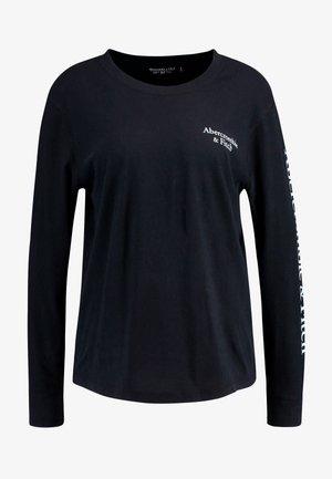 LONG SLEEVE LOGO TEE - Maglietta a manica lunga - black