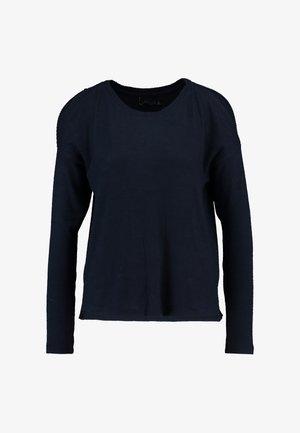COZY COLD SHOULDER - Pullover - dark blue