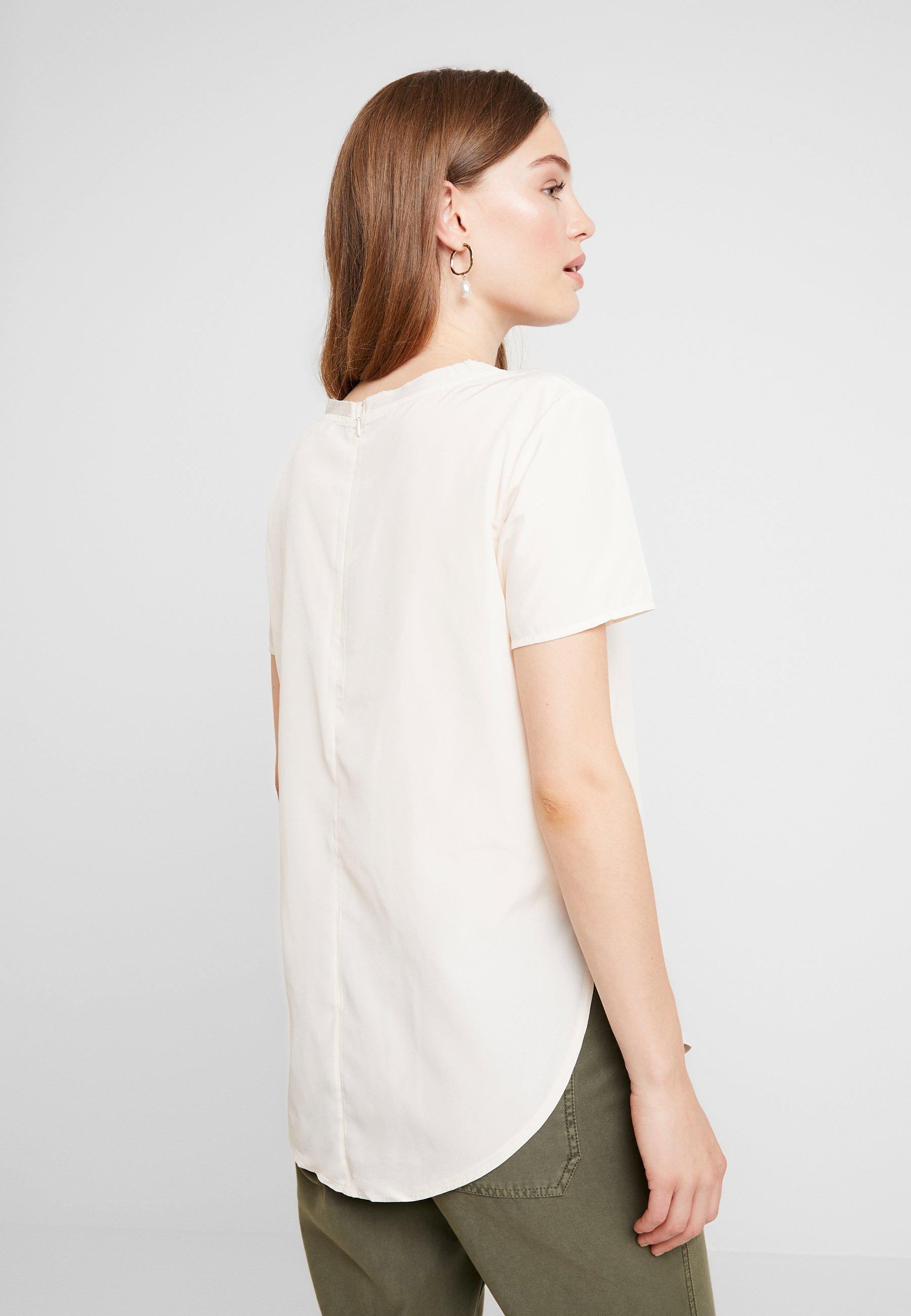 Side TeeBlouse Off white Split Abercrombieamp; Fitch WEDHI9Y2