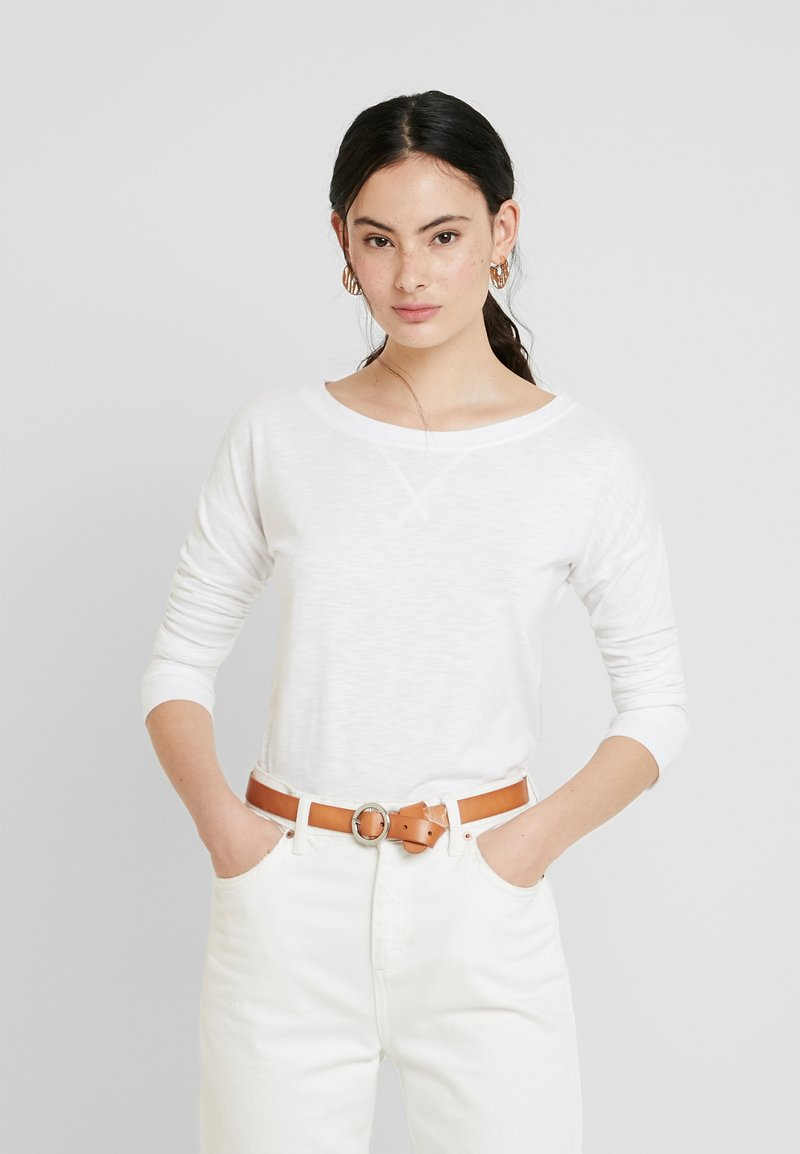 Abercrombie & Fitch - Long sleeved top - white
