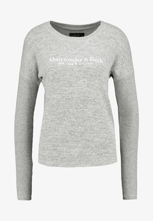 COZY LOGO - Maglietta a manica lunga - grey