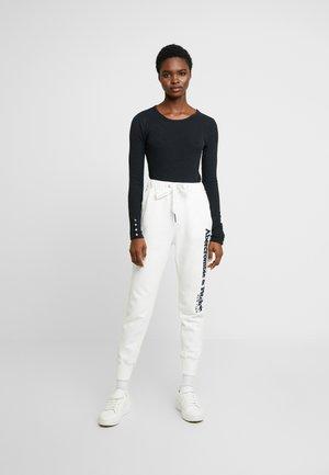 SLIM MULTI 2 PACK - Topper langermet - black/white