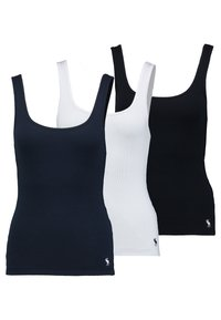 Abercrombie & Fitch - BOYTANK 3 PACK - Top - black/white/navy - 0