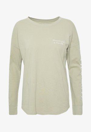 T-shirt à manches longues - green
