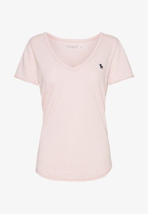 SOFT ICON TEE - T-shirts - pink