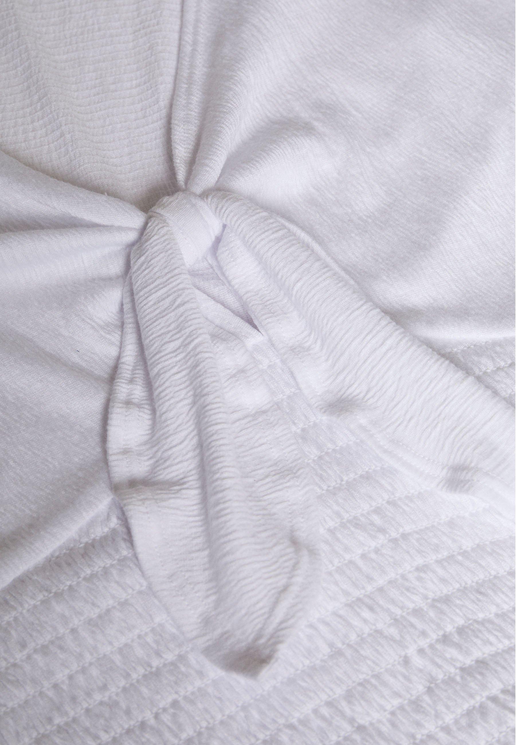 Abercrombie & Fitch FASHION CORE WRAP - T-shirt con stampa - white