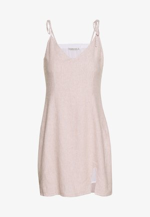 CHASE SLIP DRESS - Kjole - tan