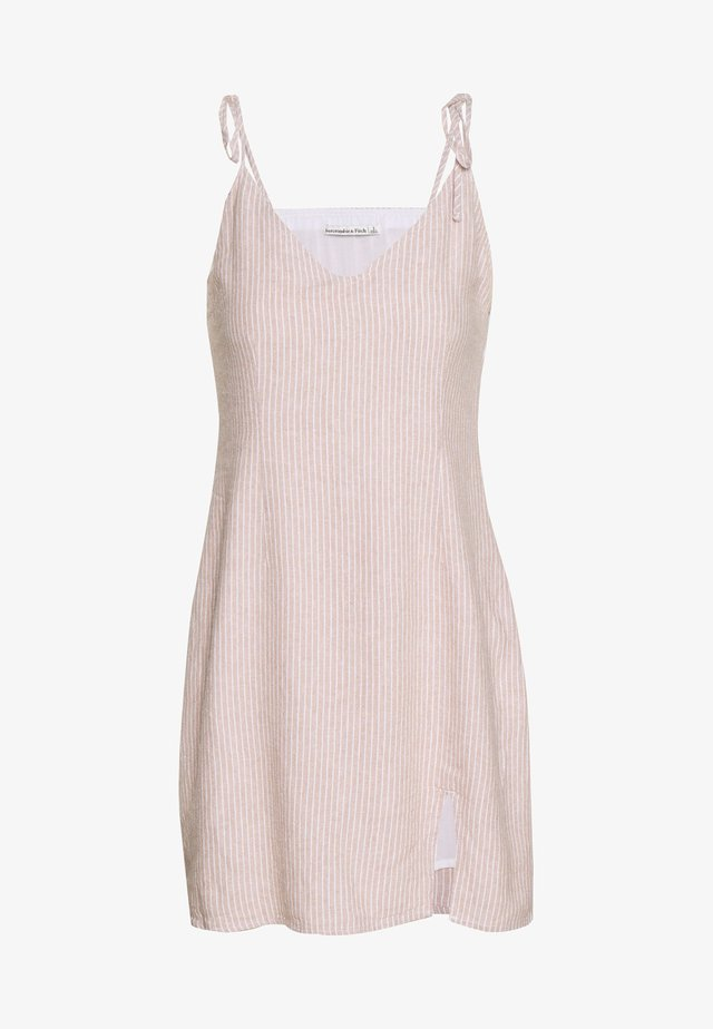 CHASE SLIP DRESS - Day dress - tan