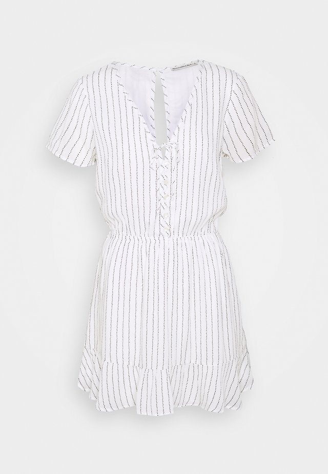 CHASE EASY WAIST - Shirt dress - white