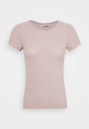 SLIM TEE - T-shirt basic - pink