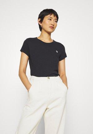 ICON CREW TEE - Basic T-shirt - black