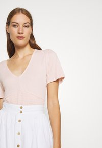 Abercrombie & Fitch - Print T-shirt - pink - 3